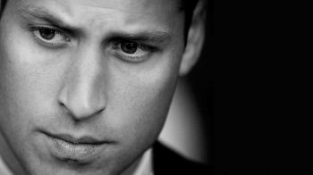 Young man in close up-Duke of Cambridge
