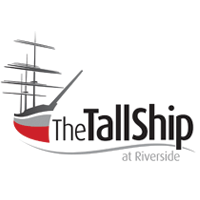 tall ship at riverside logo