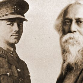 Two men-Rabindranath Tagore and Wilfred Owen